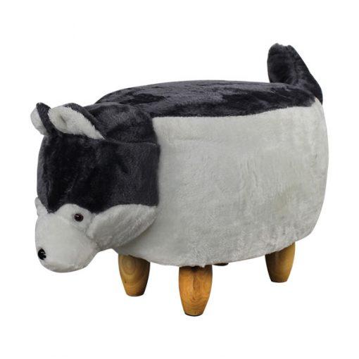 可愛動物椅換鞋凳-狗狗