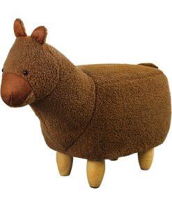 可愛動物椅換鞋凳-羊駝