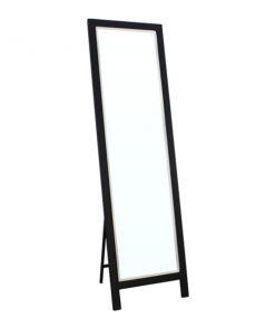 時尚黑色全身落地連身鏡