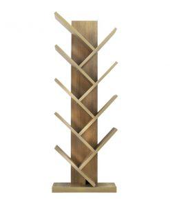 木製落地式樹型書架