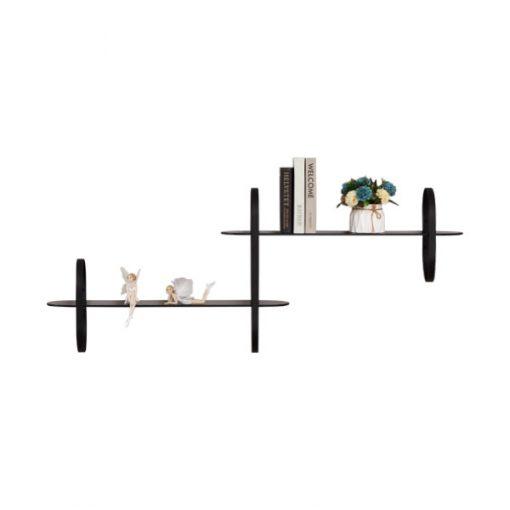 組合式玻璃鐵藝層架(1-2-1)