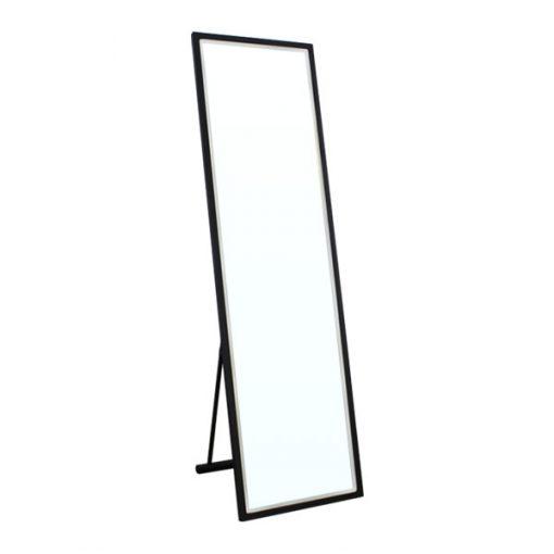 經典黑色全身落地連身鏡