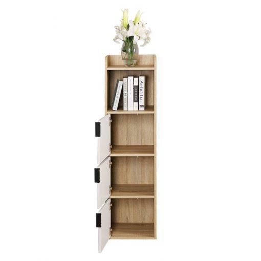4層木製書櫃儲物櫃