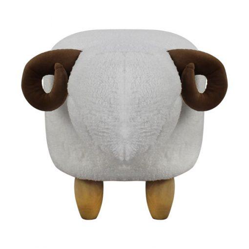 可愛動物椅換鞋凳-羊羊