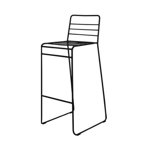 歐陸式可疊高鐵藝吧椅