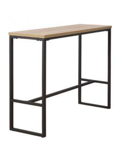 長方形木製鐵藝吧枱