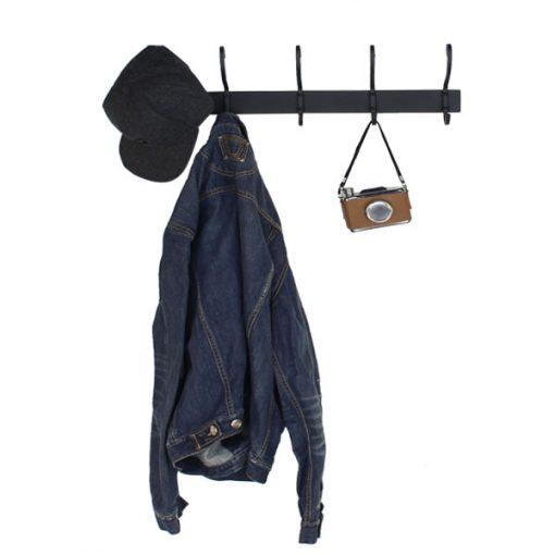 黑色5個S型衣帽掛勾