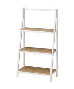 3層多功能白色書架