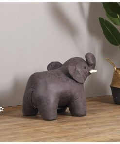 可愛動物椅換鞋凳V2-大象