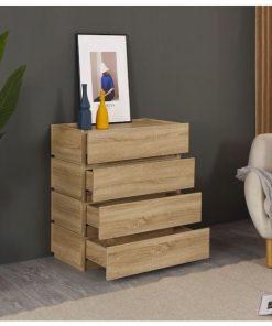 可疊式收納木櫃櫃桶-80cm