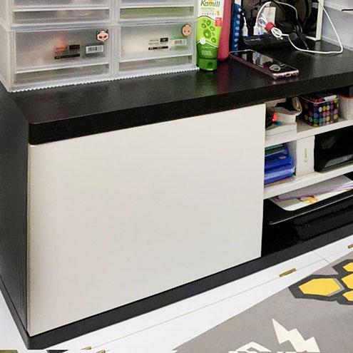 黑白配電視櫃